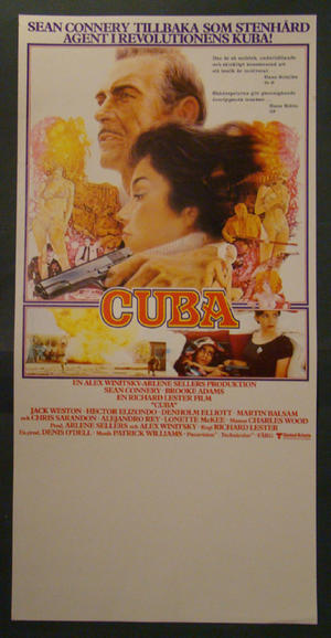 CUBA (SEAN CONNERY, BROOKE ADAMS)