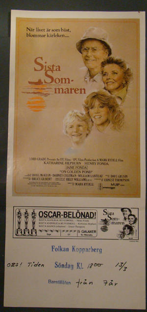 ONE GOLDEN POND (JANE FONDA, KATHARINE HEPBURN)