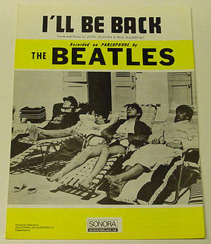 Beatles - I'll be back  Nothäfte