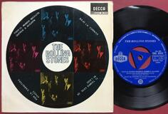 ROLLING STONES - Everybody needs somebody.. +3 Spansk EP 1965