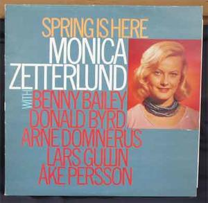 ZETTERLUND, MONICA Spring is here 1958-60 insp. LP