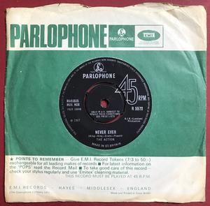 ACTION - Never ever UK 45 1967