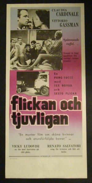FLICKAN OCH TJUVLIGAN (CLAUDIA CARDINALE, VITTORIO GASSMAN)