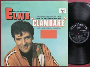 ELVIS PRESLEY - Clambake German-orig LP 1967