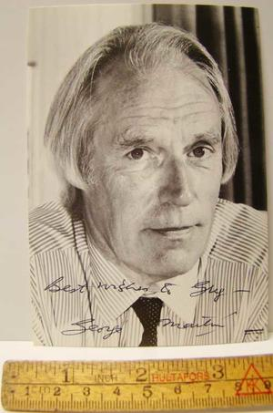 GEORGE MARTIN - Autograf