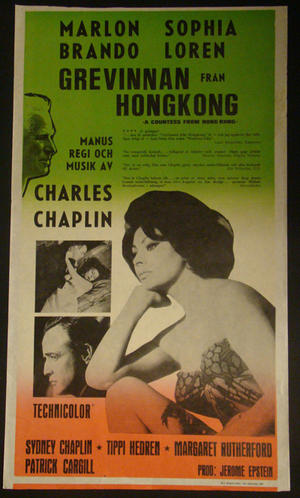 A COUNTESS FROM HONG KONG ( (1967) CHAPLIN