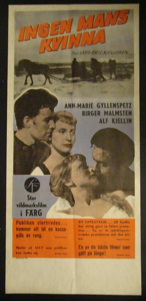 INGENS MAN KVINNA (ANN-MARIE GYLLENSPETZ, BIRGER MALMSTEN, ALF KJELLIN)