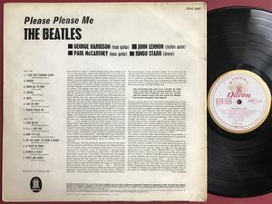 BEATLES - Please please me Tysk EXPORT LP 1964