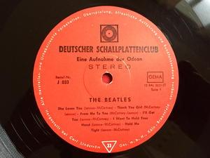 """BEATLES -  """"same"""" German CLUB ISSUE LP 1964"""