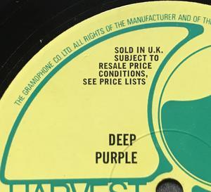 DEEP PURPLE - The book of Taliesyn UK-orig LP 1968