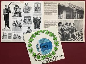 ABBA - Waterloo VOLVO Bilia Haga norra SUPER RARE 8-tums PS 1974