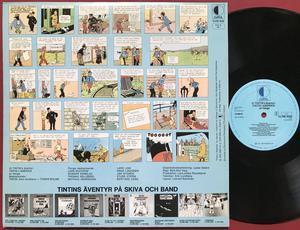 TINTIN - I Amerika Holl-orig LP 1976
