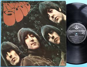 BEATLES - Rubber Soul NORSK orig mono LP 1965