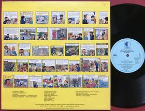 TINTIN - Månen tur och retur Holl-orig LP 1977