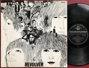 BEATLES - Revolver NORSK-orig Mono LP 1966