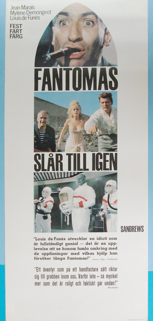 FANTOMAS SE DECHAINE (1966)