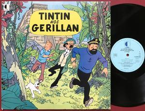 TINTIN - Hos Gerillan Holl-orig LP 1977