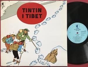 TINTIN - I Tibet Holl-orig LP 1978