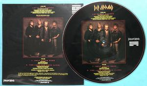 "DEF LEPPARD - Let´s get rocked SIGNED UK-orig 12"" maxi 1992"