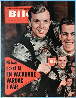 BILDJOURNALEN - no 14 1964 SPOTNICKS cover
