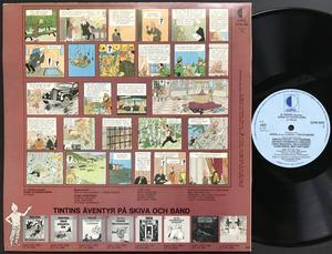 TINTIN - Kung Ottokars spira Swe LP 1975