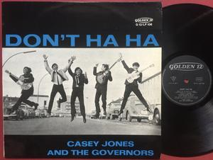 CASEY JONES & THE GOVERNORS - Don´t ha ha Ger-orig LP 1964