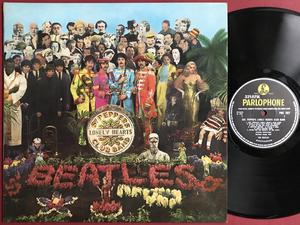 BEATLES - Sgt Peppers lonely hearts club band UK-orig MONO LP 1967