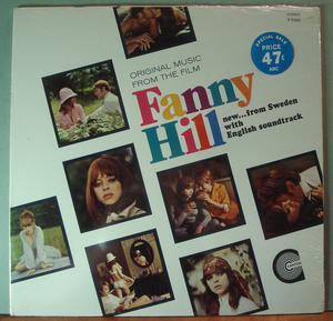 FANNY HILL - Swedish erotic movie O.S.T. US orig STILL SEALED LP