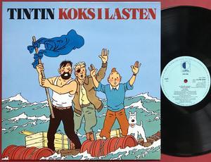 TINTIN - Koks i lasten Holl-orig LP 1982