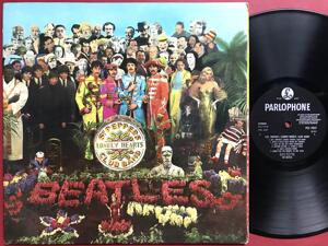 BEATLES - Sgt Peppers lonely heart club band NORSK-orig Stereo LP 1967