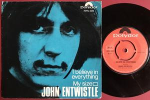 The WHO / JOHN ENTWISTLE - I believe in everything Norsk PS 1971
