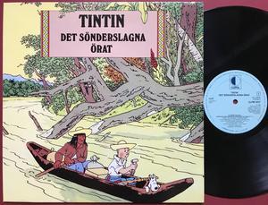 TINTIN - Det sönderslagna örat Holl-orig LP 1984