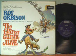 THE FASTEST GUITAR ALIVE Roy Orbison O.S.T. UK-orig 1967 LP