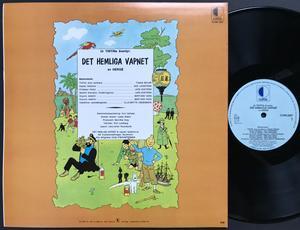 TINTIN - Det hemliga vapnet Swe LP 1971