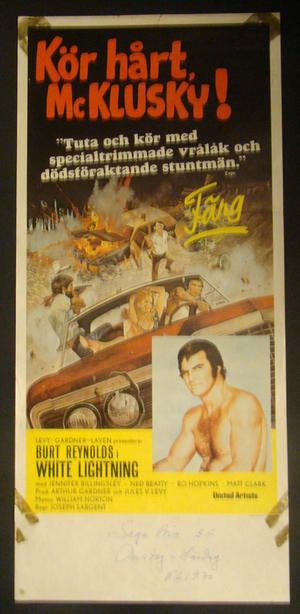 WHITE LIGHTNING (BURT REYNOLDS)