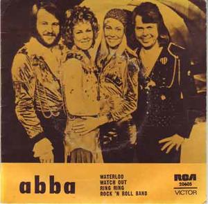ABBA - Waterloo + 3 EP AUSTRALIEN