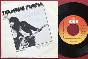 BRUCE SPRINGSTEEN - Born to run Holl PS 1975