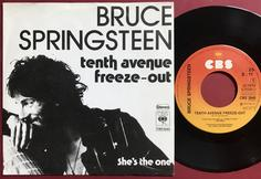 BRUCE SPRINGSTEEN - Tenth avenue freeze-out Holl PS 1976