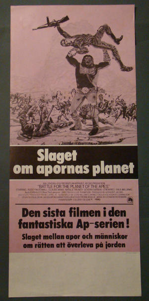 BATTLE FOR THE PLANET OF THE APES (RODDY MCDOWALL)