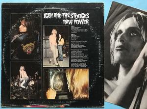 The STOOGES - Raw power SIGNERAD LP 1973