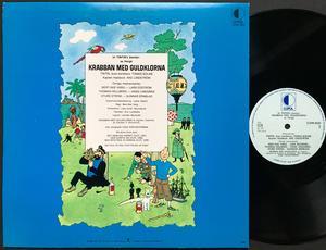 TINTIN - Krabban med guldklorna Swe LP 1973