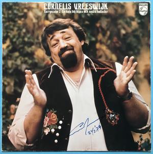 CORNELIS VREESWIJK - Narrgnistor 2/En halv böj blues.. SIGNED LP 1978