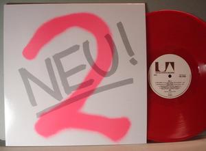 NEU! - 2, 1973 LP Röd vinyl reissue