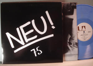 NEU! - 75, 1975 LP Blå vinyl reissue