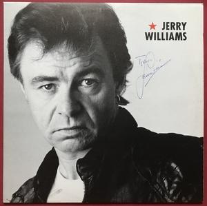 JERRY WILLIAMS - JW - SIGNED LP 1989