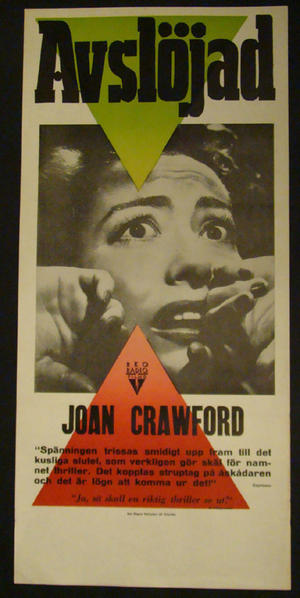 SUDDEN FEAR (JOAN CRAWFORD)