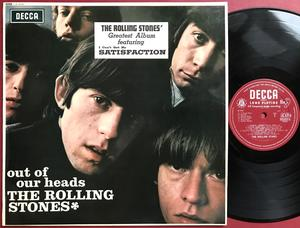 ROLLING STONES - Out of our heads UK-original LK 4725 Mono EXPORT LP 1965
