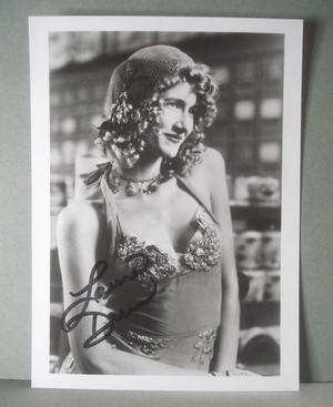 LAURA DERN Real autograph on real photo !