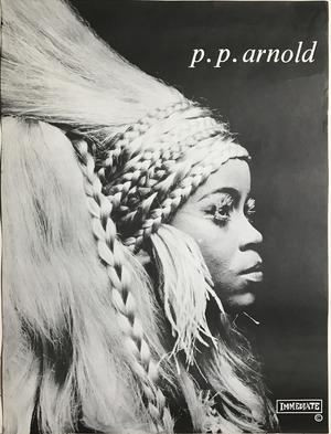 P.P.  ARNOLD - Kafunta (1968) Immediate LP Promoaffisch