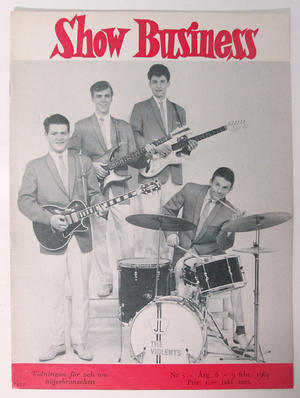SHOW BUSINESS - 1962 nr 5 Violents omslag
